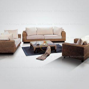Tremendous Water Hyacinth Sofa Set Maws 0060 Man Khai Furniture Ncnpc Chair Design For Home Ncnpcorg